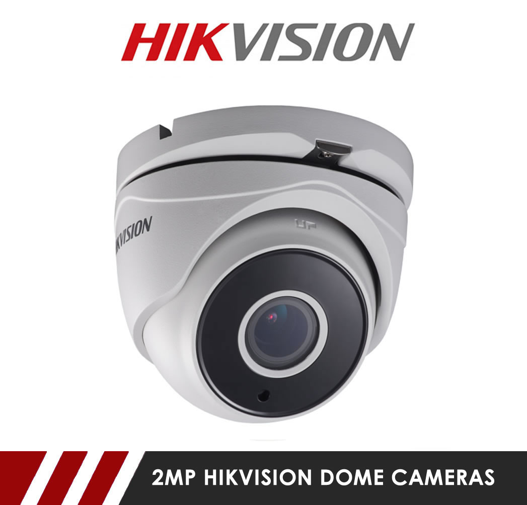 2MP Hikvision Dome CCTV Cameras