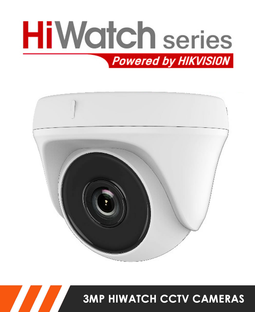3MP HiWatch CCTV Cameras
