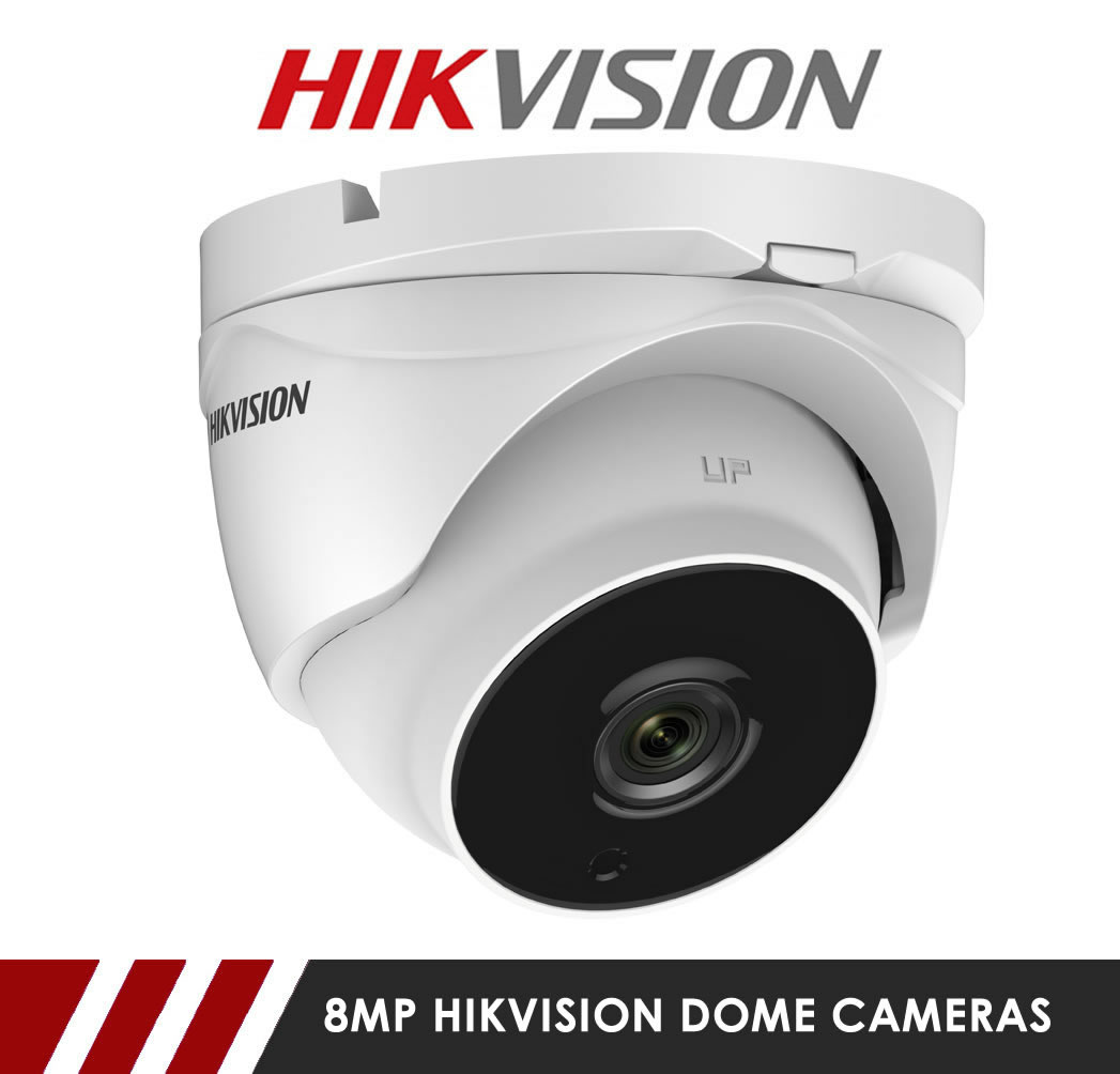 8MP Hikvision Dome CCTV Cameras