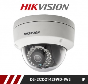 Hikvision DS-2CD2142FWD-IWS 4MP Network IP  CCTV Dome Camera 30m IR 2.8mm Fixed Lens with Wifi