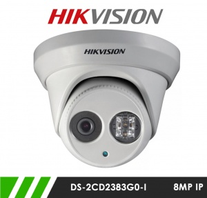 Hikvision DS-2CD2383G0-I 8MP Network IP CCTV Dome Camera 30m IR 2.8mm Fixed Lens