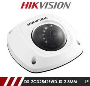 Hikvision DS-2CD2542FWD-IS-2.8MM Network IP CCTV Dome Camera 10m IR 2.8mm Fixed Lens