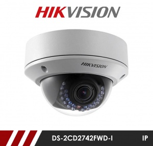 Hikvision DS-2CD2742FWD-IZS 4MP Network IP  CCTV Dome Camera 30m IR 2.8-12mm Varifocal Lens