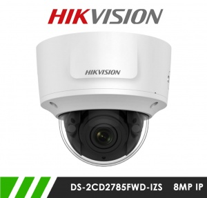 Hikvision DS-2CD2785FWD-IZS 8MP Motorized Varifocal Network IP CCTV Dome Camera 30m IR