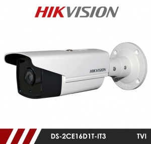Hikvision DS-2CE16D7T-IT3 3.6mm Fixed lens HD-TVI CCTV Bullet Camera - White