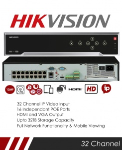 Hikvision DS-7732NI-I4-24P 32CH NVR CCTV Recorder