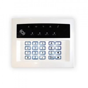 Pyronix Enforcer Wireless LCD Keypad with Proximity LEDRKP/WHITE-WE