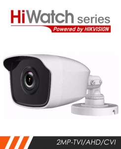 HiWatch THC-B220-2.8MM 2MP External Bullet Camera with 40m IR and 2.8mm Lens
