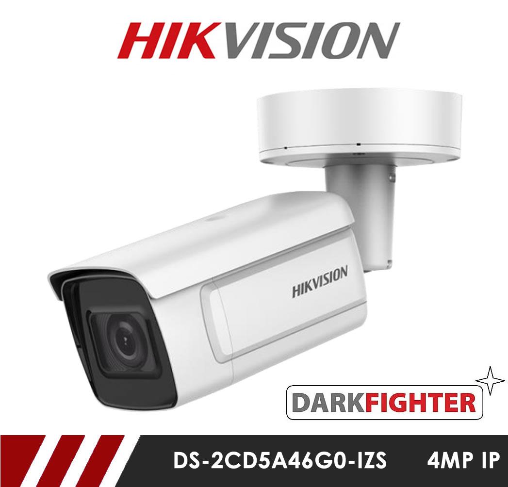MIE CCTV: Hikvision DS-2CD5A46G0-IZS Darkfighter 4MP Network IP CCTV