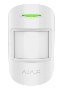 Ajax MotionProtect Plus - Dual Tech PIR - White