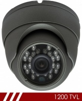 Skyline Lite Plus 1200 TVL CCTV Camera 20m IR 3.6mm Lens In Graphite