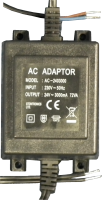 24V DC 3000mA Power Supply 24 Volt 3 AMP
