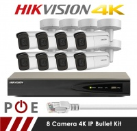 8 Camera Hikvision CCTV Kit With 8MP 4K Anti Vandal Motorized Lens Dome Cameras in White[1]