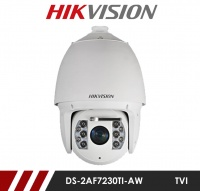 Hikvision DS-2AF7230TI-AW Turbo HD External IR PTZ Camera with Smart Tracking & Wiper