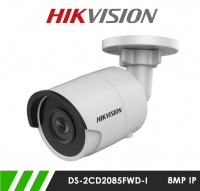 Hikvision DS-2CD2085FWD-I 8MP 4K Network IP CCTV Bullet Camera 30m IR 2.8mm Fixed Lens