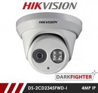 Hikvision Darkfighter DS-2CD2345FWD-I-2.8MM 4MP Network IP CCTV Dome Camera 30m IR 2.8mm Fixed Lens
