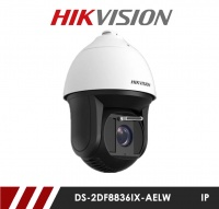 Hikvision DS-2DF8836IX-AELW 8MP 4K Ultra Lowlight Smart AutoTrak PTZ CCTV IP Camera with 200m IR and 36x Zoom