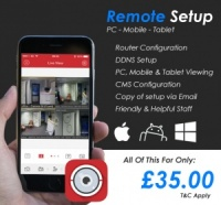 Need Technical Support ?  We Offer Remote Setup For Your CCTV DVR