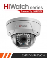 HiWatch THC-D220 2.8MM 2MP External Anti Vandal Dome camera with 20m IR and 2.8mm Lens