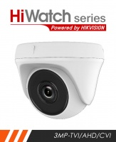 HiWatch THC-T230-2.8MM 3MP External Dome camera with 40m IR and 2.8mm Lens