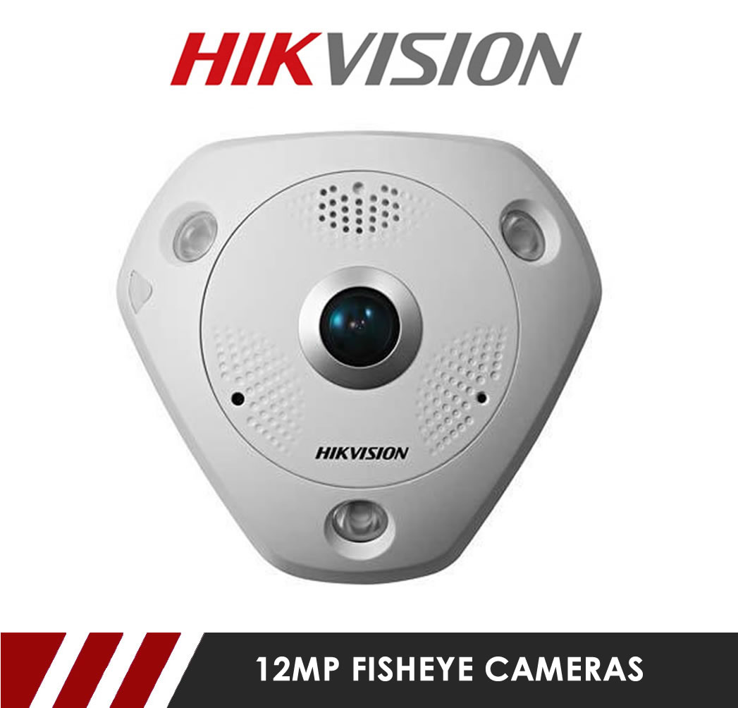 12MP Fish Eye Cameras