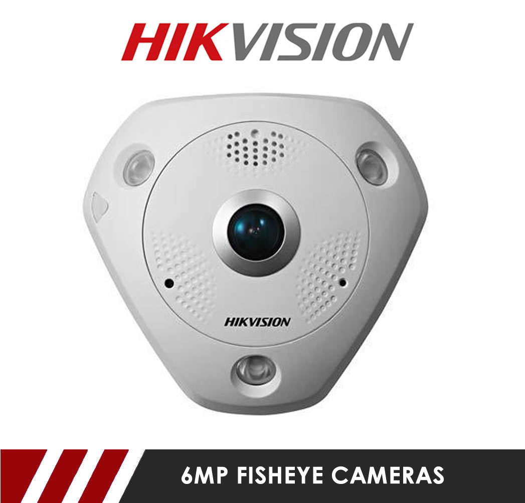 6MP Fish Eye Cameras