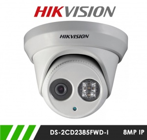 Hikvision DS-2CD2385FWD-I 8MP Network IP CCTV Dome Camera 30m IR 2.8mm Fixed Lens 20FPS