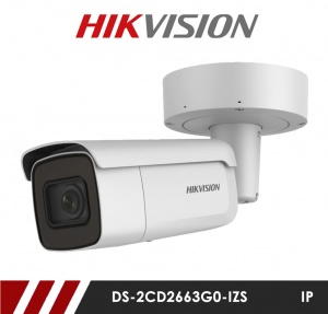Hikvision DS-2CD2663G0-IZS 6MP Network IP CCTV Bullet Camera 50m IR 2.8-12mm Motorized Lens