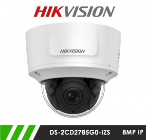 Hikvision DS-2CD2785G0-IZS 8MP Motorized Varifocal Network IP CCTV Dome Camera 30m IR