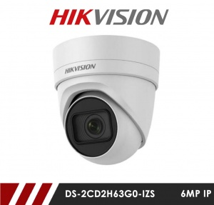 Hikvision DS-2CD2H85FWD-IZS 8MP Motorized Varifocal Network IP CCTV Turret Dome Camera 30m IR