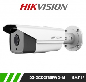 Hikvision DS-2CD2T85FWD-I8 8MP Network IP CCTV Bullet Camera 80m IR 4mm Fixed Lens