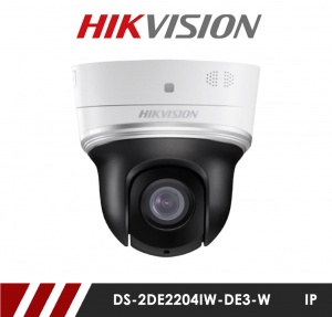 Hikvision DS-2DE2204IW-DE3/W 2-inch 2MP 4X Powered by darkfighter IR Network Speed Dome