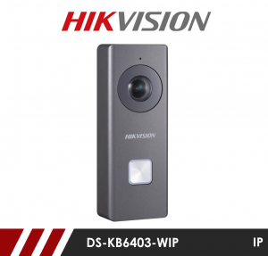 Hikvision DS-KB6403-WIP WIFI Video Door Bell with 1080p resolution