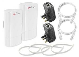 Pair of Budget 2.4Ghz, 300Mbps IPmitter Wireless IP Bridges