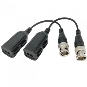 Single Channel POC Video Balun for HD-TVI, CVI, AHD & CVBS and POC Analog camera.
