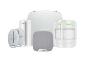 Ajax Wireless Alarm House Kit 2 Plus - White