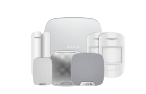 Ajax Wireless Alarm House Kit 3 Plus - White