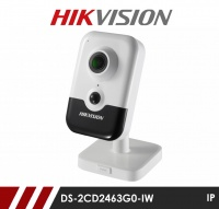 Hikvision DS-2CD2443G0-IW 4MP WiFi IR Cube Camera with PoE 2.8mm Fixed Lens
