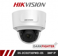 Hikvision Darkfighter DS-2CD2745FWD-IZS 4MP Motorized Varifocal Network IP CCTV Dome Camera 30m IR