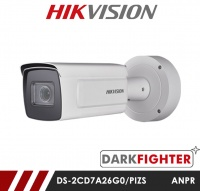 Hikvision DS-2CD7A26G0/PIZS 8-32MM 2MP DeepinView Darkfighter External ANPR Camera