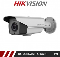 Hikvision DS-2CE16D9T-AIRAZH Motorised Varifocal Lens 5-50MM HD-TVI CCTV Bullet Camera - White