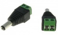 Easy Fit Male 5.5mm x 2.1mm DC Power Connector adaptor