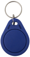 Contactless blue key fob for use with Hikvision intercom
