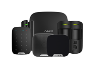 Ajax Wireless Alarm with Hub 2 House Kit 3 - Black